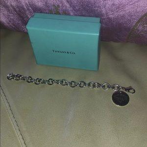 Tiffany & Co round silver bracelet